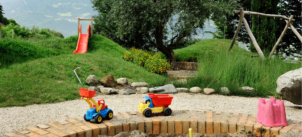 The playground at Hotel Giardino Marling